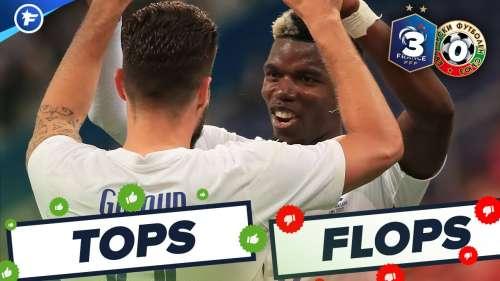 France-Bulgarie (3-0) : Pogba fait la loi, Giroud efficace comme jamais | Tops et Flops