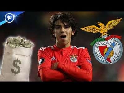 Benfica a reçu trois offres à 120 M€ pour João Félix   Revue de presse
