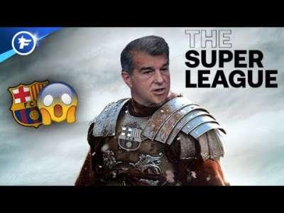 Joan Laporta repart au combat pour la Super League | Revue de presse