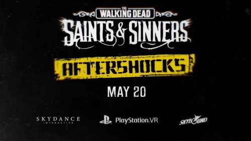 FLASH INFO PSVR | THE WALKING DEAD S&S AFTERSHOCKS | PLAYSTATION VR