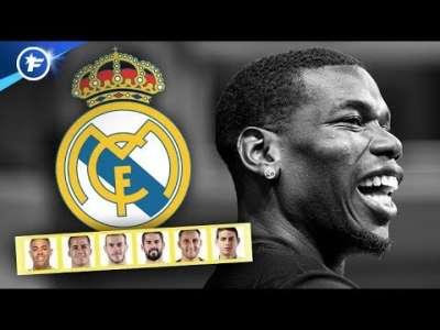 Le plan du Real Madrid pour acheter Paul Pogba   Revue de presse