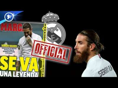 La presse espagnole sous le choc du départ de Sergio Ramos du Real Madrid | Revue de presse
