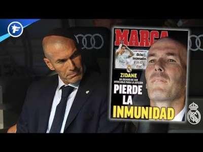 Zinédine Zidane perd son immunité au Real Madrid | Revue de presse