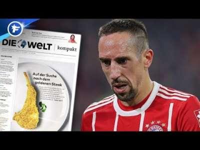 Franck Ribéry en pleine tempête après son dérapage | Revue de presse