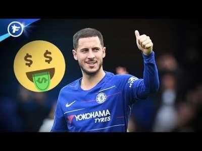 Un nouveau contrat juteux attend Eden Hazard à Chelsea   Revue de presse