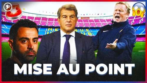 La conférence de presse LUNAIRE de Ronald Koeman au Barça | JT Foot Mercato