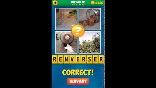 Solution du jeu 4 images 1 mot plus niveau 12