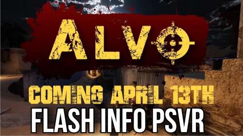 FLASH INFO PSVR | ALVO | PLAYSTATION VR