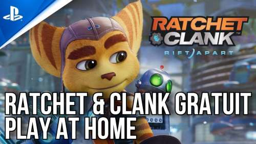 Play At Home | Ratchet & Clank Gratuit | PS4