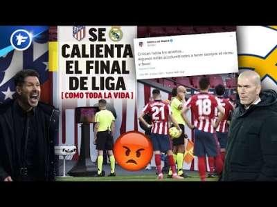 Grosses tensions entre le Real Madrid et l'Atlético   Revue de presse