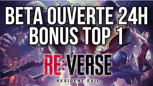 RESIDENT EVIL RE:VERSE BETA | BONUS TOP 1