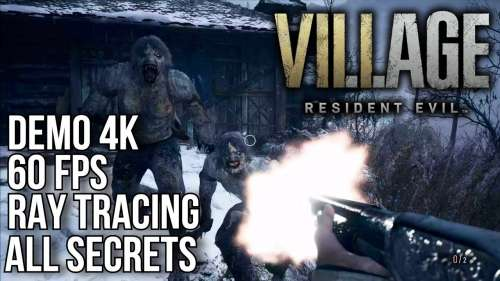4K DEMO RESIDENT EVIL VILLAGE PS5 | 3840X2160 60 FPS RAY TRACING | VOSTFR