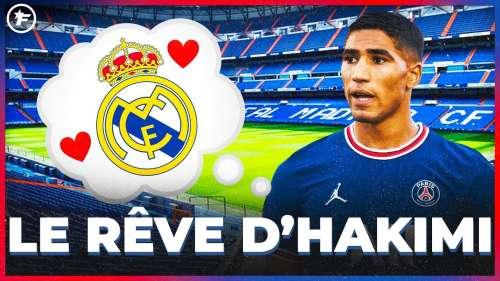 Achraf Hakimi RÊVE de RETOURNER au Real Madrid | JT Foot Mercato