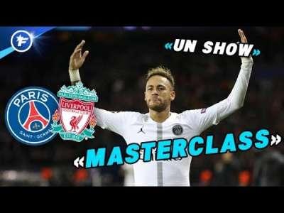 L'Angleterre impressionnée par le match de Neymar contre Liverpool   Revue de presse