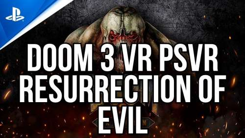 DOOM 3 VR PSVR | DLC RESURRECTION OF EVIL | AIM CONTROLER