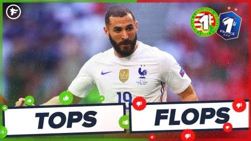 Hongrie-France (1-1) : Benzema en plein doute, Pavard totalement perdu | Tops et Flops