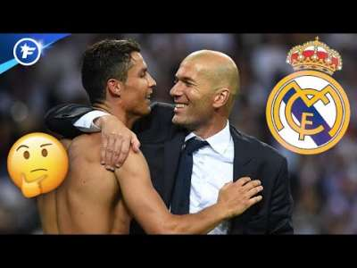 Zinedine Zidane ouvre la porte à un retour de Cristiano Ronaldo au Real Madrid   Revue de presse