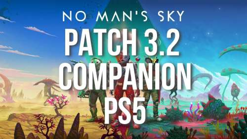 No Man'S Sky Patch 3.2 COMPAGNON PS5 PSVR | PlayStation VR