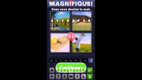 Solution du jeu 4 images 1 mot  de 51 à 100