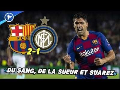 La prestation de Luis Suarez contre l'Inter fait grand bruit | Revue de presse