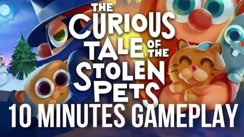 THE CURIOUS TALE OF THE STOLEN PETS PSVR | 10 MINUTES GAMEPLAY | PlayStation VR