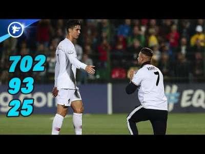 Le quadruplé de Cristiano Ronaldo fait grand bruit | Revue de presse