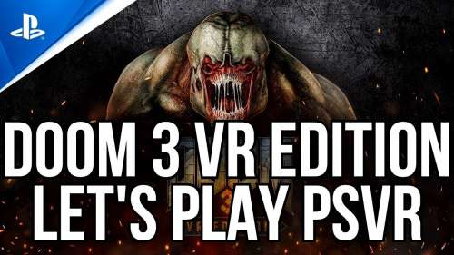 DOOM 3 VR EDITION PSVR | LET'S PLAY | AIM CONTROLLER
