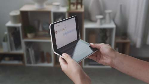 Microsoft Turns The Surface Duo Into A Handheld Xbox Console