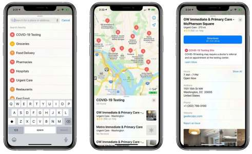 Apple Maps Will Now Show COVID-19 Vaccination Locations