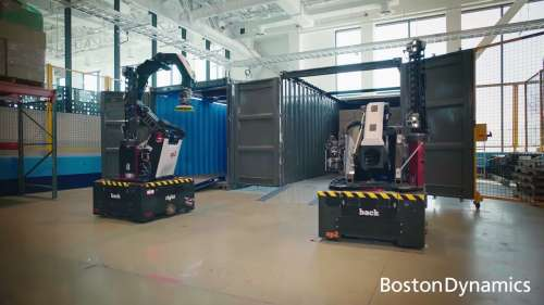 Boston Dynamics Unveils A Robot That Can Move Boxes In Warehouses