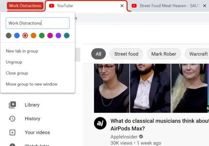 How To Group Tabs In Google Chrome