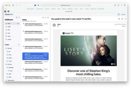 iCloud Mail For The Web Gets A More Modern Makeover