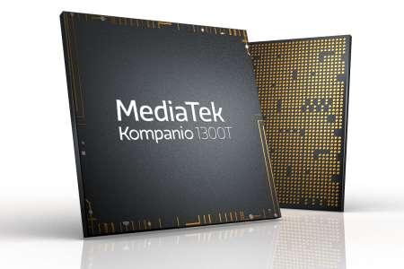 MediaTek Kompanio 1300T Processor for 5G Tablets