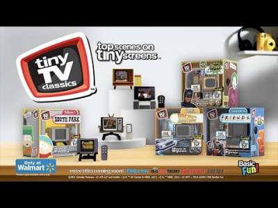 This Tiny TV Plays Classic TV Shows And It's All Kinds Of Cute