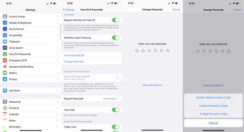 How To Change Your iPhone Passcode