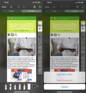 How To Save A Website As A PDF On iPhone