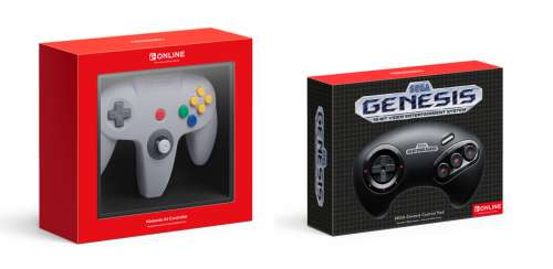 Nintendo Unveils New N64, Sega Genesis Controllers For The Switch