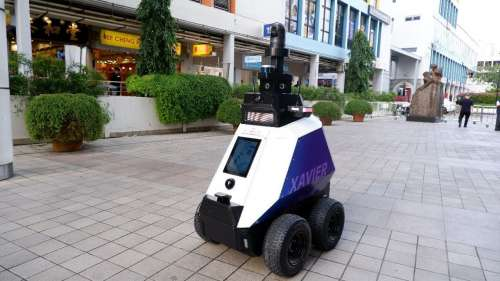 Singapore Trialing More Robots To Help Patrol The Streets To Protect Public Health