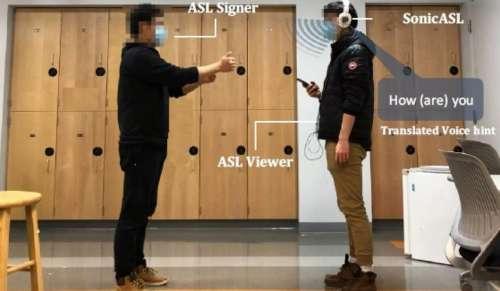 Researchers Modify Headphones To Help Interpret Sign Language