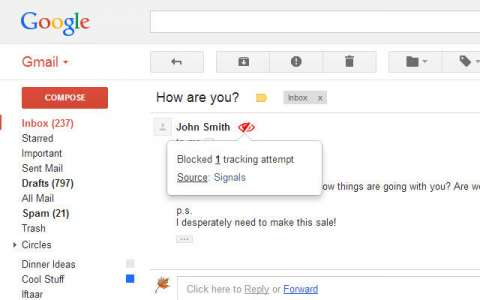 How To Block Tracking Pixels In Gmail