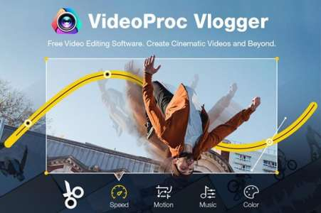 VideoProc Vlogger: A Smarter Way to Create Variable Fast/Slow Motion Effects