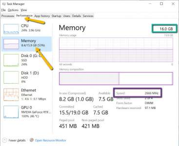 How To Check Your RAM Amount, Type, And Speed In Windows