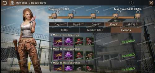 State of Survival: Memories: 7 Deadly Days