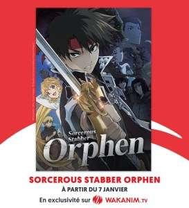 Le nouvel anime Orphen en simulcast chez Wakanim