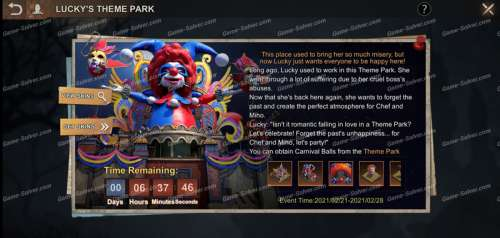 State of Survival: Lucky's Theme Park Event