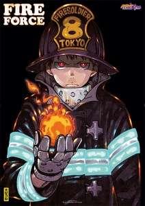 Un booklet illustré par Yûsuke Murata, Naoshi Komi ou Kei Sasuga avec le 21e tome de Fire Force