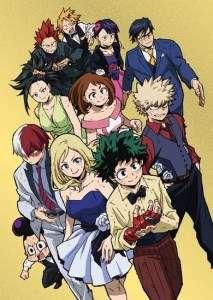 La nouvelle saison de My Hero Academia arrive sur J-One
