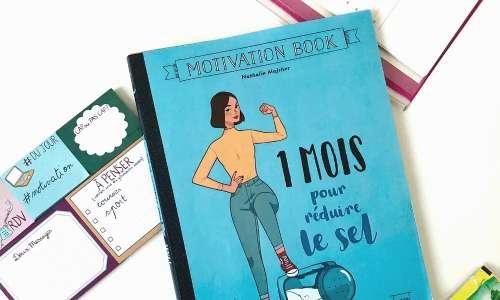 « 1 mois pour réduire le sel », le livre-programme pour réduire sa consommation de sel en douceur