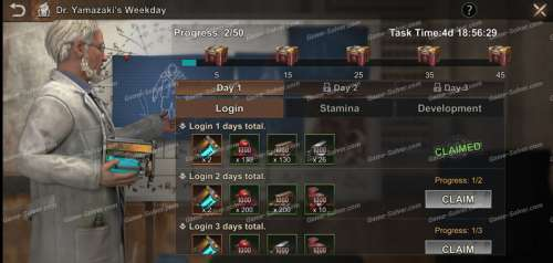 State of Survival: Dr. Yamazaki's Weekday Event