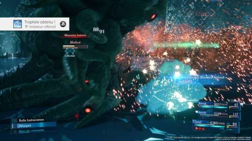 Final Fantasy VII Remake : obtenir 100% au registre de progression
